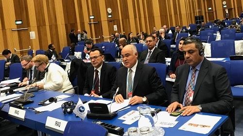 الممثل الدائم يترأس وفد العراق المُشارك في الإجتماع السادس عشر للدول الأطراف في لاتفاقية حظر الالغام المضادة للأفراد