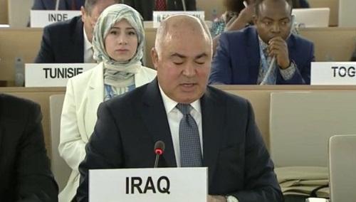 الممثل الدائم يشارك في الجلسة الخاصة الثامنة والعشرون لمجلس حقوق الانسان حول فلسطين