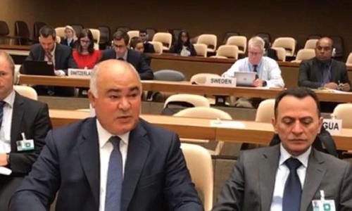الممثل الدائم يُلقي بيان العراق في إجتماع الخبراء للبروتوكول الثاني المُعدل من إتفاقية(CCW)