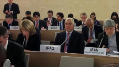 الممثل الدائم في جنيف يترأس وفد العراق في مؤتمر منع التطرف العنيف